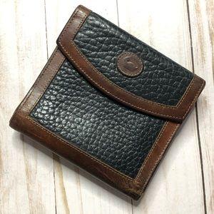 Dooney & Bourke wallet vintage black brown
